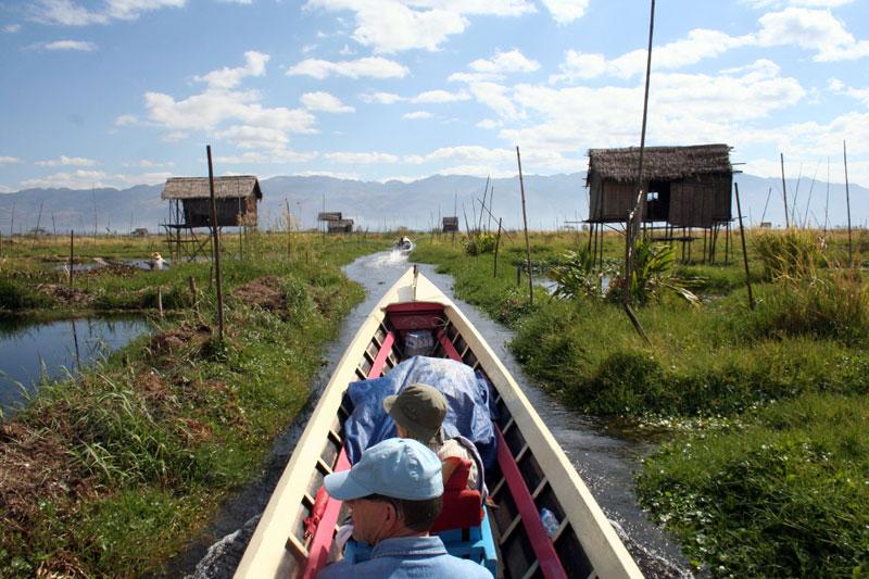 inle-järvi veneretki