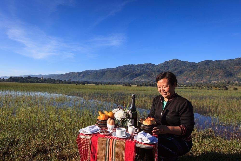 Pindaya picnic