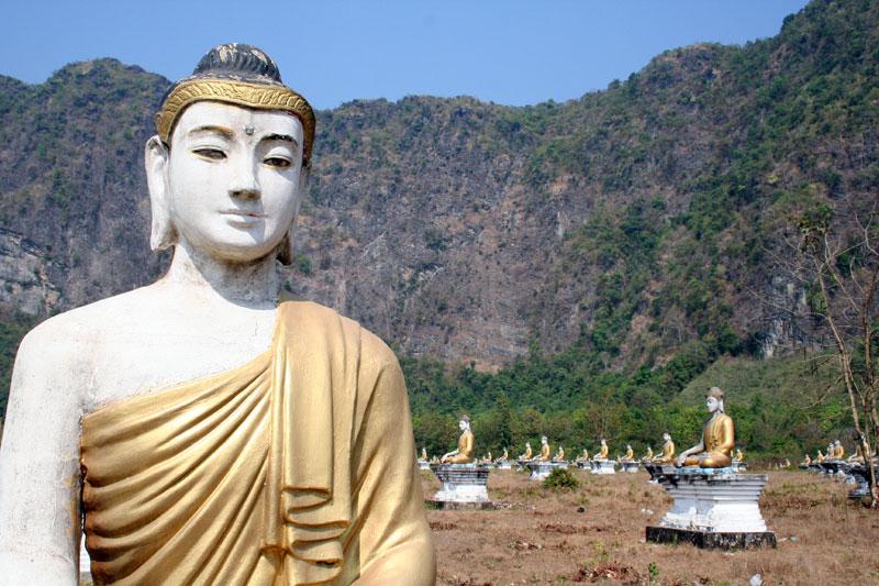Moulmein Buddhas
