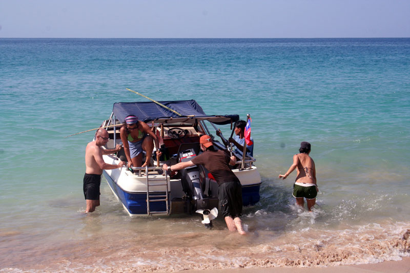 Ngapali-boat