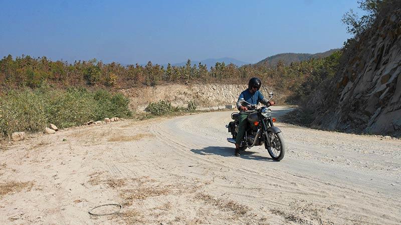 Myanmar motorcycle tour Mandalay 10
