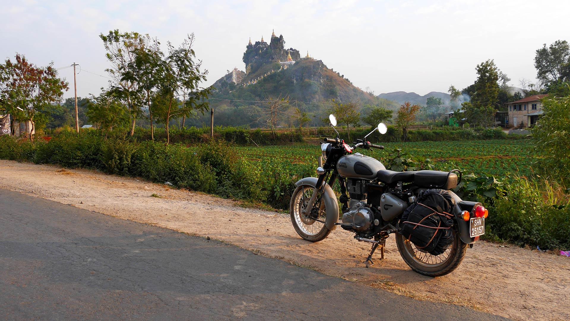 Best motorcycle tour in Myanmar