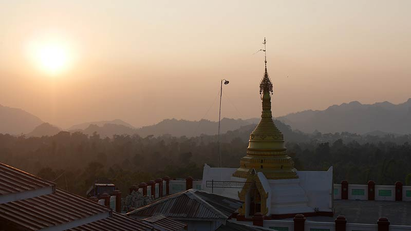 Best motorcycle tour in Myanmar 14