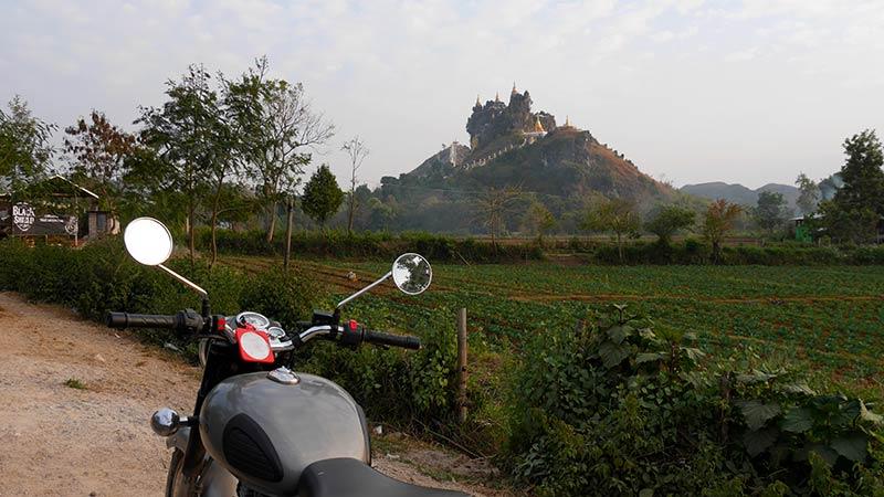 Best motorcycle tour in Myanmar 16