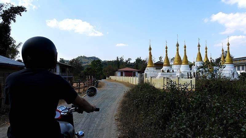 Best motorcycle tour in Myanmar 18