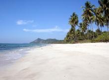 ngapali beach rannat