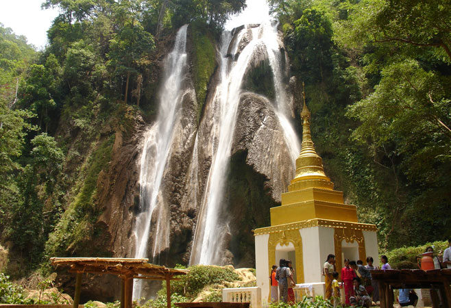 Waterfall Pyin Oo Lwin